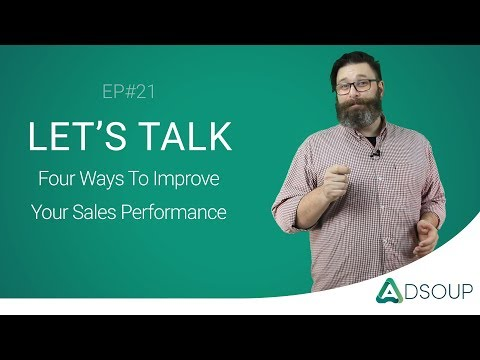 Adsoup Insights EP#21 |  4 ways to improve sales performance