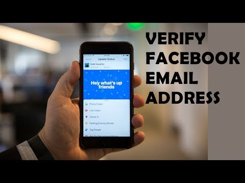 How to change email address on facebook using android/iphone