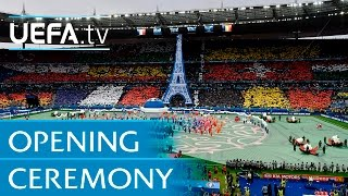 David Guetta at EURO 2016 opening ceremony