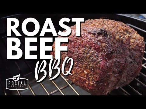How To Cook Roast Beef On The Grill | How to BBQ Roast Beef