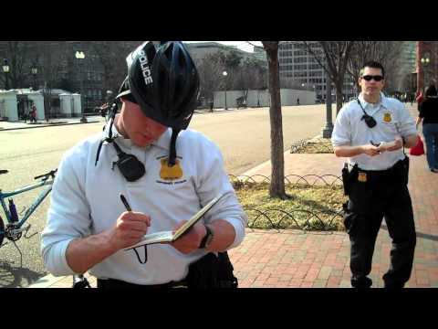 Detained at the White House for Photography