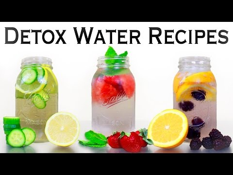 🔥 INSTANT BELLY FAT BURNERS! 3 Detox Water Recipes for Weight Loss, Energy, & Anti-Aging! 🔥