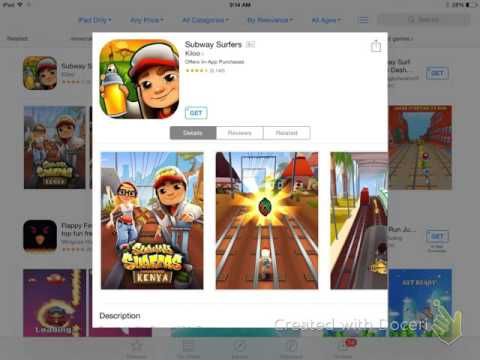 How to use the App Store