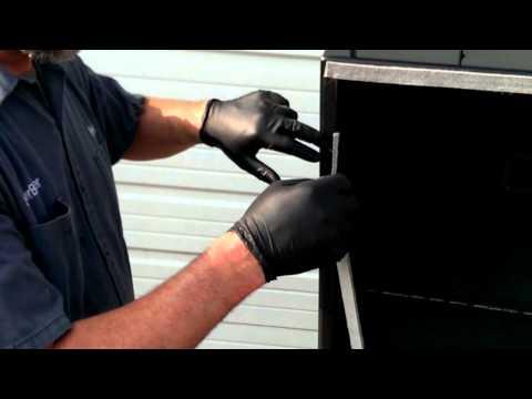 How to install a LavaLock BBQ Smoker Pit Gasket; Self stick by BBQsmokerMods.com