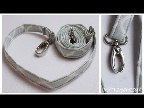 Adjustable Bag Strap   Sewing How to   Whitney Sews