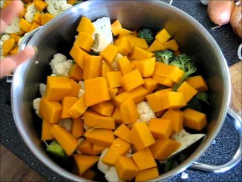 Making Vegetable Puree (Baby Food)