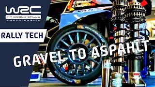 WRC - RallyRACC 2017: Tech Special (gravel vs. tarmac)