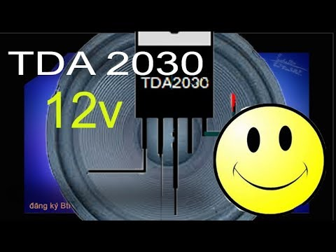 How to make audio amplifier circuit with TDA 2030 using 12v  The best calibration circuit diagram