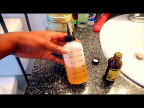 The Perfect Oil Mixture for HAIR GROWTH