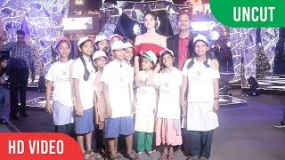 UNCUT - Ananya Panday Unveils Special Christmas Decor at High Street Phoenix