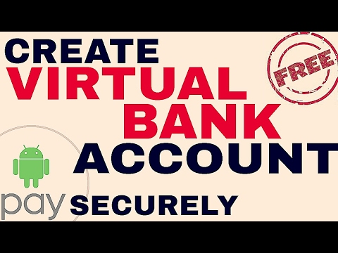 Create FREE Virtual Bank Account for secure online payments. YOU WILL GET VIRTUAL DEBIT CARD ALSO!!