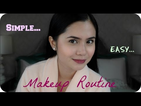 Simple & Easy Makeup Routine   Anna Cay ♥