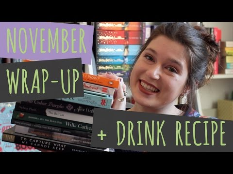 🥃 NOVEMBER WRAP UP + HOT TODDY RECIPE 🥃 | Drinking By My Shelf
