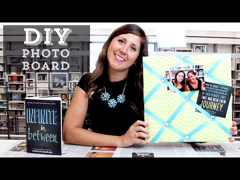 DIY: How to Make a Photo Memory Board