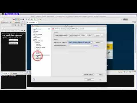 01: Setup   Create Android app with Javascript