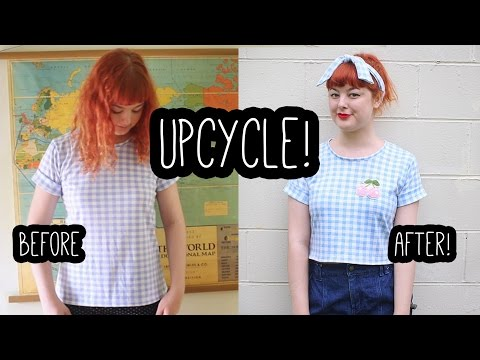 Upcycle an Old Shirt! | Get Thready With Me #3