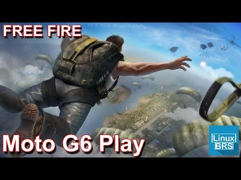 Gameplay Android - Free Fire - Motorola Moto G6 Play - 1º vez jogando
