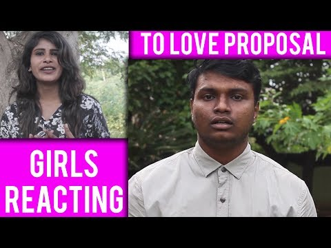 How Does Girls React To Proposals   Best Proposal Reaction - Khaali Dabba