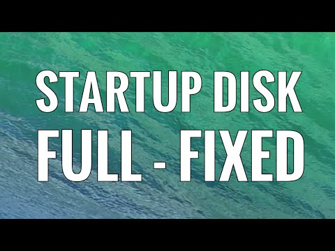 Startup Disk is Full on Mac - Easily Clean Your Hard Drive