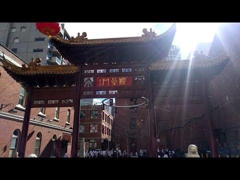Visiting Chinatown in Melbourne, Australia