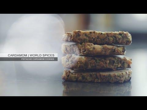 Cardamom - Pistachio Cardamom Cookies