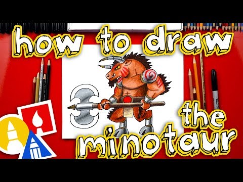 How To Draw The Minotaur 🐮