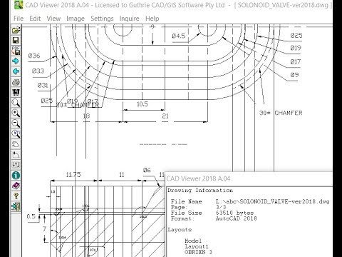 CAD Viewer for all AutoCAD DWG / DXF / DWF versions - Free Trial Download [1080p HD]