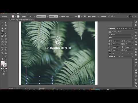 How To Create a Fresh logo using Adobe illustrator