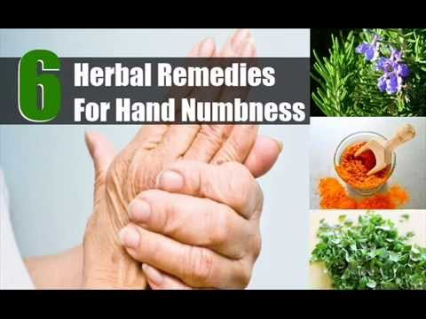 6 Herbal Remedies For Hand Numbness
