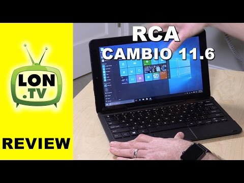 RCA Cambio 11.6 Inch Windows 10 Detachable Keyboard Tablet Review - $199