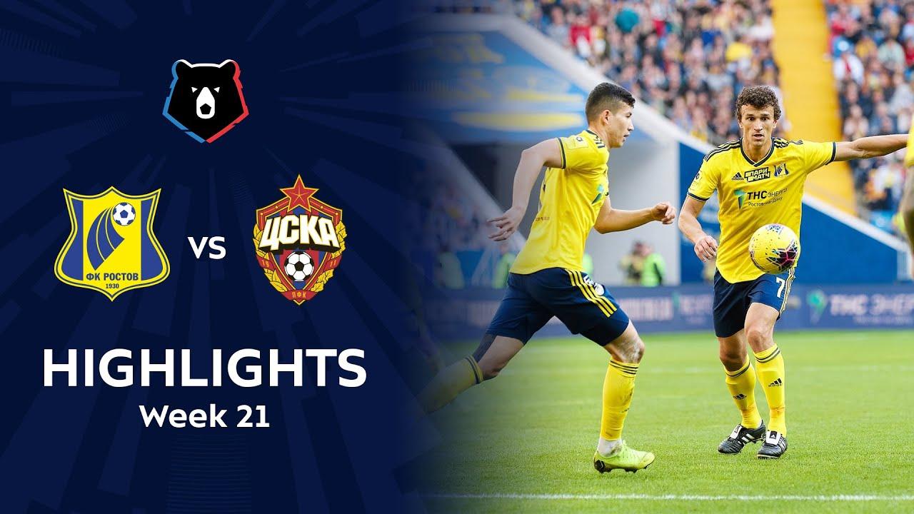 Highlights FC Rostov vs CSKA (3-2) | RPL 2019/20