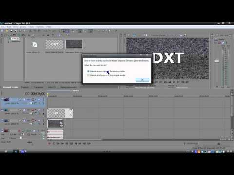 Sony Vegas Pro 11 || Making an intro #01 (Simple)