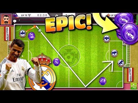 INSANE RONALDO GOALS IN PORTUGAL!! - Best Goals Ever!! (Real Madrid Team) Miniclip Soccer Stars