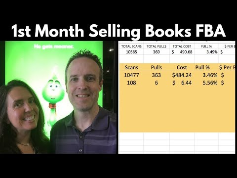 First Month Selling Books on Amazon Results Ebay Future