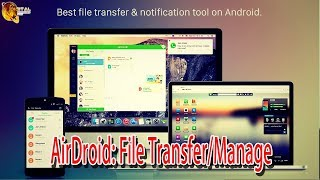 AirDroid: File Transfer/Manage | Mobile App | Android | Science & Technology