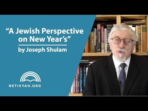 A Jewish Perspective on New Year's