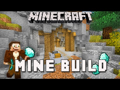 Minecraft:  Mineshaft Design For A Diamond Mine  (Scarland Survival Base Ep.9)