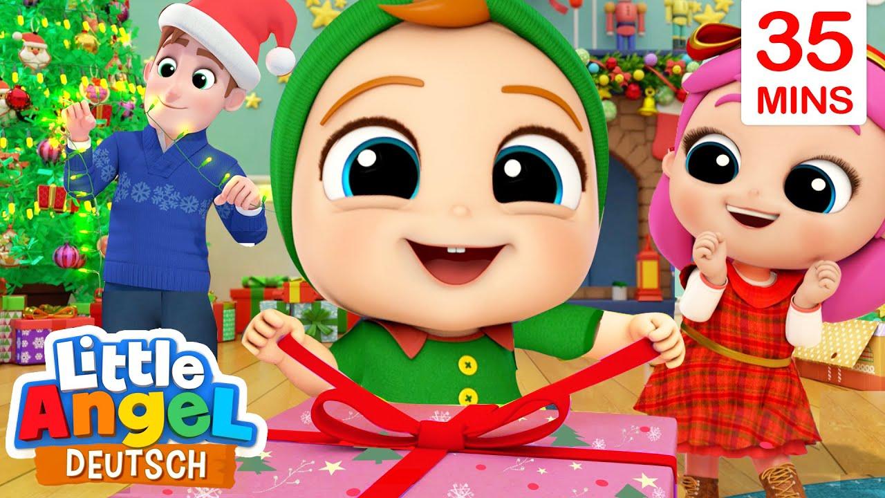 Weihnachtslieder-Mix | Kinderlieder für die Weihnachtszeit | Little Angel Deutsch