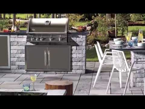 How to build an outdoor BBQ kitchen