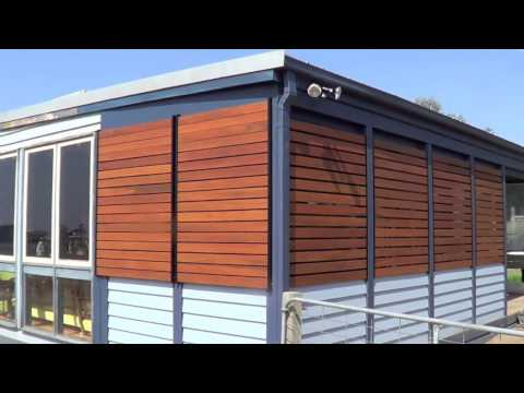 Screen Up-Timber Screen Verandah make over
