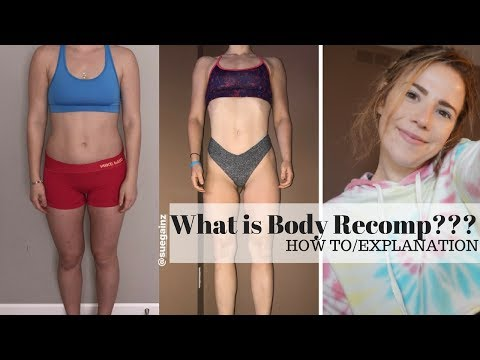 How do you change your shape?   Body Recomposition