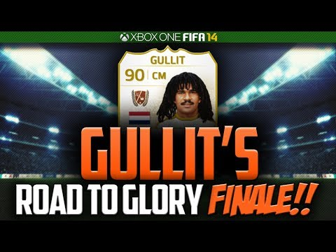 FIFA 14 GULLIT'S ROAD TO GLORY #23 - THE FINALE!! BEST TEAM!!