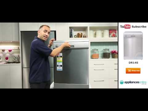 Euromaid Dishwasher DR14S overview by appliance expert - Appliances Online