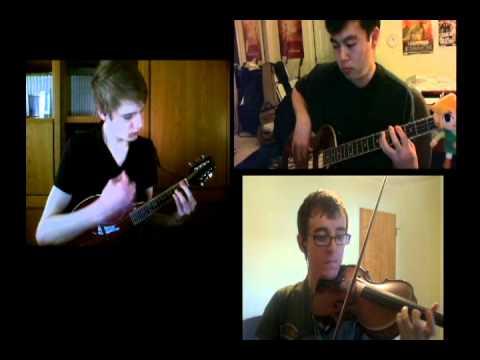 Dragon Roost Island (LoZ Windwaker) on Mandolin, Violin, and Bass