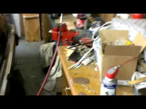 Boat steering cable repair