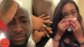 Davido ANGRILY Takes Back Chioma Engagement Ring... See What Happened | Pizzy Vibes