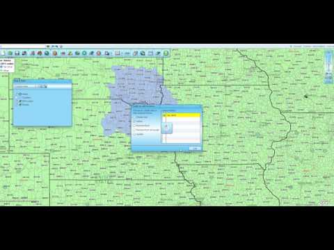 Building a Quick Zip Code Territory Using Map Business Online