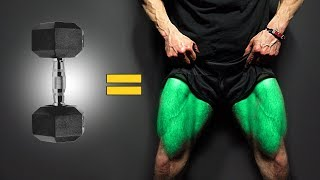 The BEST Dumbbell Exercises - LEGS EDITION!