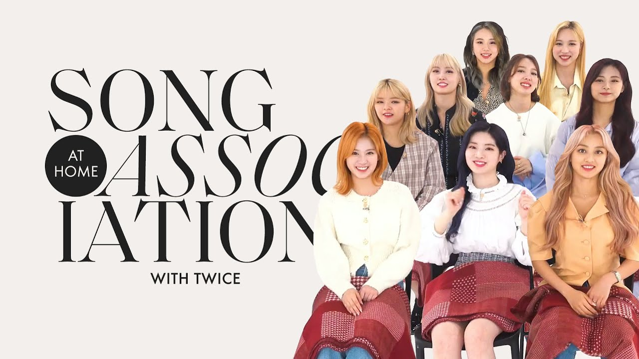 TWICE Sings Adele, Adam Levine, and PSY in a Game of Song Association   ELLE