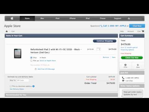 Apple Store Coupon Code 2013 - How to use Promo Codes and Coupons for Apple.com
